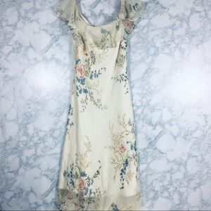 Lauren Ralph Lauren Silk Chiffon Maxi Dress